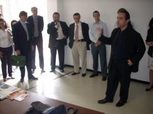Participantes da Conferência Pro-IDEAL visitam o CTR-ECA-USP.