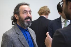 Gilson Schwartz, criador e coordenador da campanha MIL CLICKS da UNESCO, em seminário realizado pela ABERJE em Londres (2014).